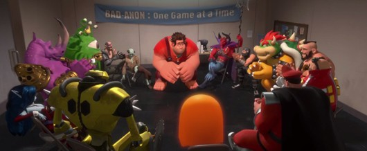 Disney's WreckIt Ralph trailer features an allstar cast of gaming's baddest villains