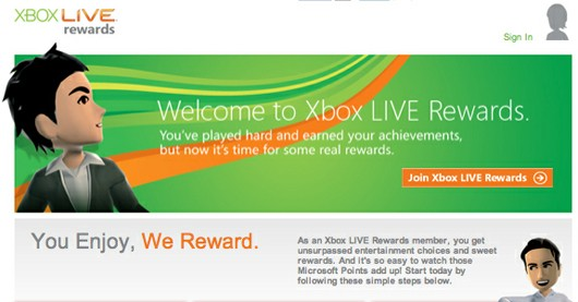 Xbox Live Rewards to tie into Achievements this Fall