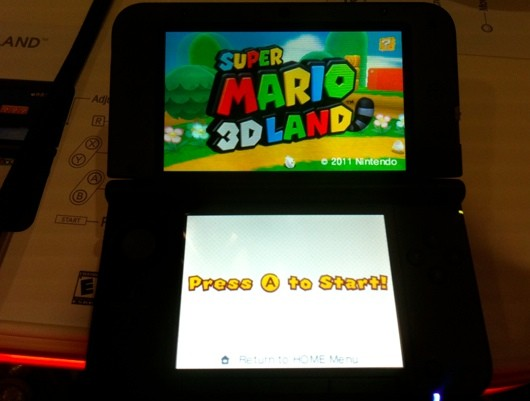 Handson with the 3DS XL