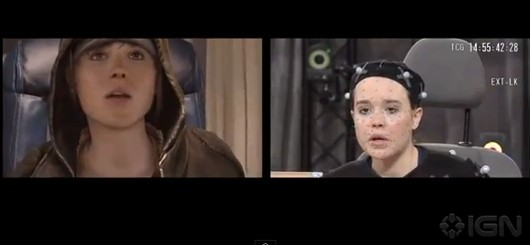 How Ellen Page is transported into Beyond Two Souls