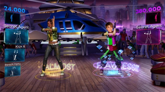 Dance Central 2's July DLC goes Round and Round