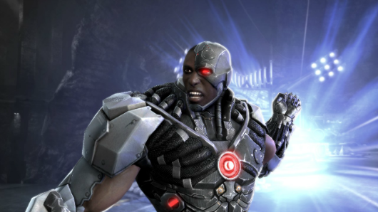 Here's what Cyborg and Nightwing look like in Injustice Gods Among Us