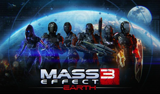 Mass Effect 3's 'Earth' DLC officially detailed, still free