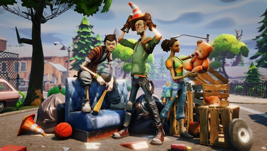 Bleszinski Fortnite on PC 'primary and first,' but 'other platforms' not ruled out