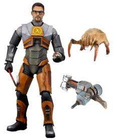 Gordon Freeman action figure has no pushbutton catch phrases