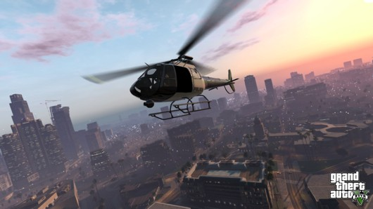 Two GTA5 screens
