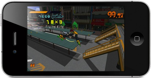 Jet Set Radio for mobile this summer