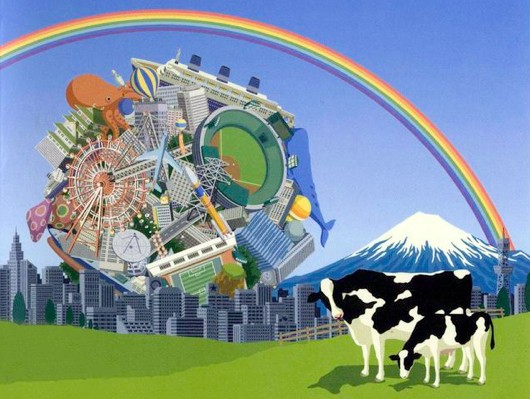 Katamari Damacy rolling into New York Museum of Modern Art