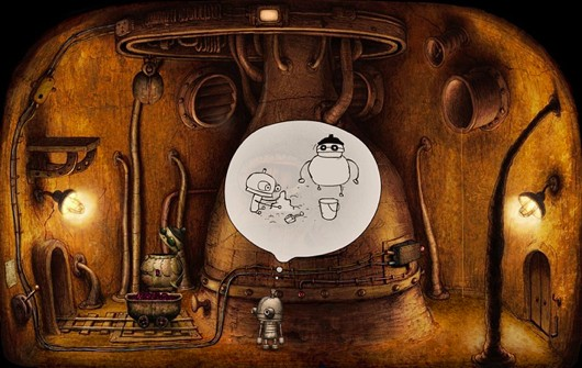 Machinarium apparently headed to PS3 and Vita