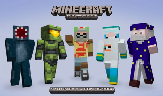 Minecraft XBLA skins include Master Chief