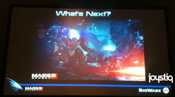 Rampant Speculation Theater presents BioWare teases a single image at SDCC