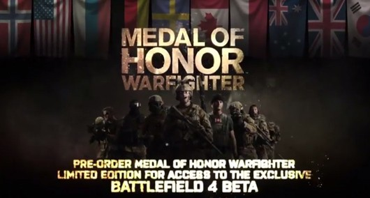 Battlefield 4 announced in Medal of Honor Warfighter trailer