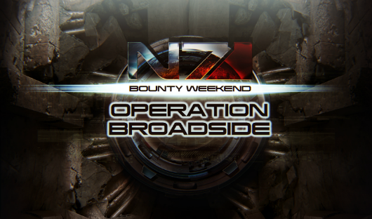 This weekend's Mass Effect 3 event is 'Operation Broadside'