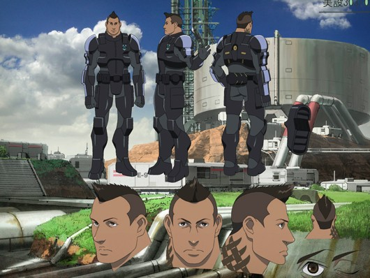 That Mass Effect 3 anime looks  well