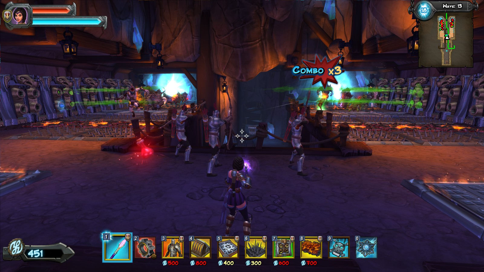 Orcs Must Die! 2 review Coop and then some