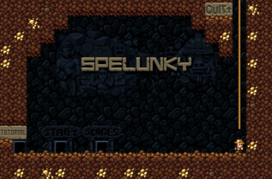 Original version of Spelunky now playable in your browser