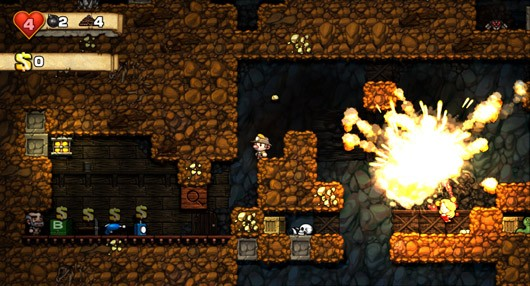 Spelunky review Obtainer of rare antiquities, giver of aneurysms