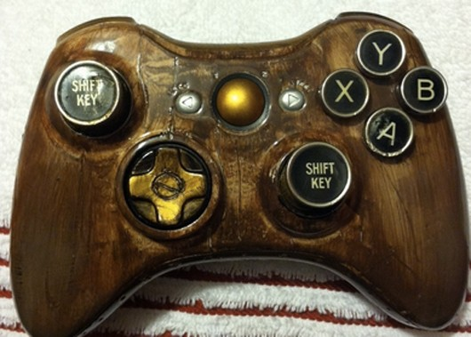 Custom steampunk Xbox 360 controller looks mighty slick