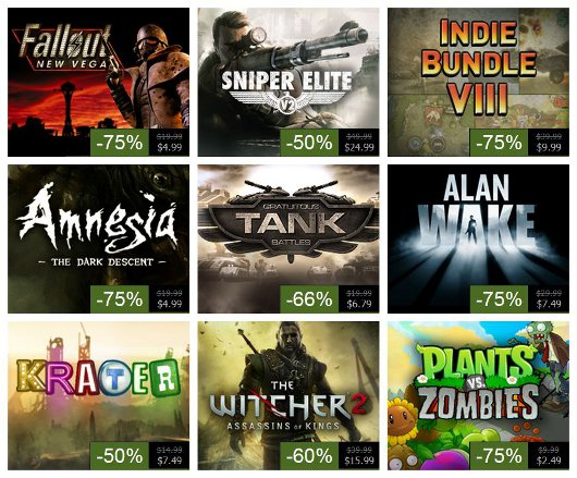 Steam Summer Sale, Day 8 Alan Wake, Witcher 2, Fallout New Vegas