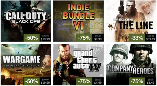 Steam Summer Sale, Day 6 Black Ops, Spec Ops, Limbo and other stuff too!