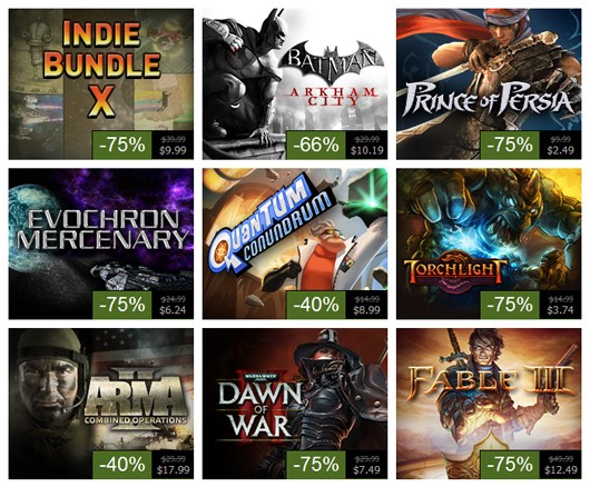 Steam Summer Sale, Day 10 