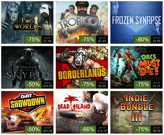 Steam Summer Sale, Day 3 Skyrim, Dead Island, Borderlands and more