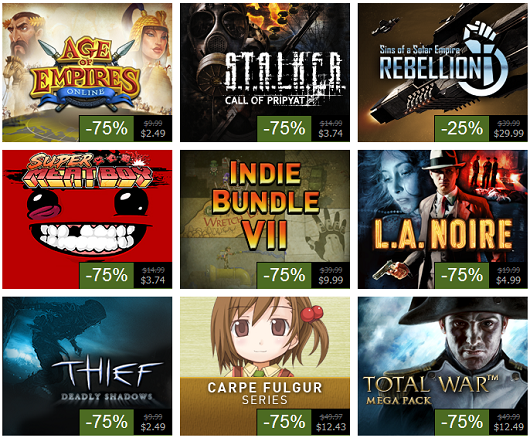 Steam Summer Sale, Day 7 Super Meat Boy, LA Noire, Total War, Indie Bundle 7 and more