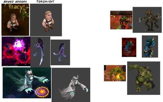 Torchlight art found in iOS MMO, MMO dev denies theft against strong evidence