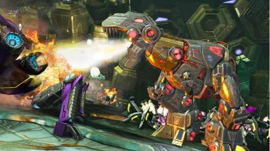 TRANSFORMERS FALL OF CYBERTRON demo out now