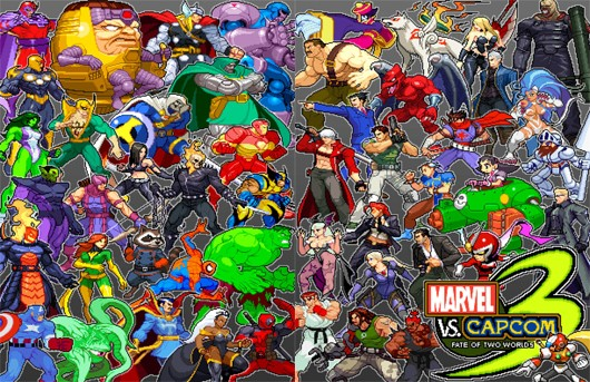 Fanmade Ultimate Marvel vs Capcom 3 sprites are pretty great