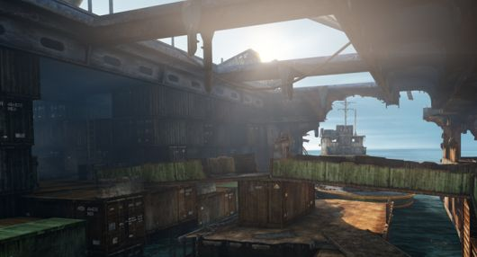 Uncharted 3's latest lab pits 5on5 with SMGS, grenades and riot shields