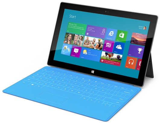 Microsoft Surface launching alongside Windows 8 this October