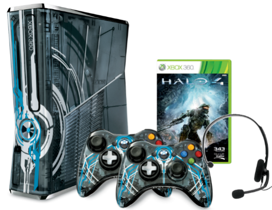 Legendary Edition Halo 4 360 bundle official, controllers also sold separately
