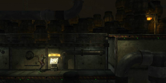 Oh look, an Abe's Oddysee HD screen
