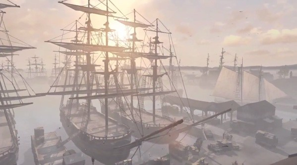 Get your sea legs on with Assassin's Creed 3's Naval trailer from Gamescom