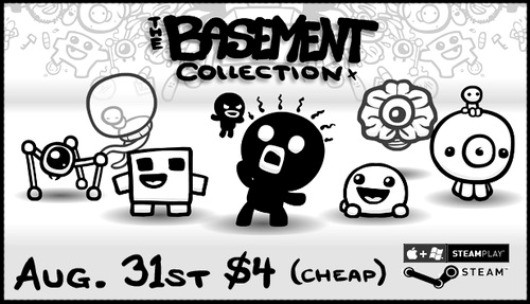 Edmund McMillen's Basement Collection arrives today