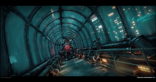 BioShock environments remade in CryEngine