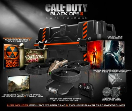 Black Ops 2 'Hardened' and 'Care Package' editions leaked