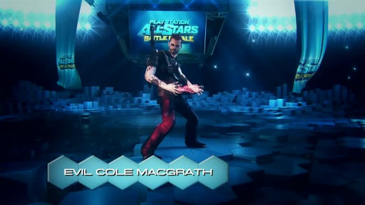 Shocker Evil Cole McGrath is in PlayStation AllStars