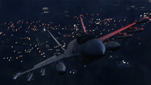 Fly a jet, ride a bike, and zip around in a Cheetah in these new Grand Theft Auto 5 screens
