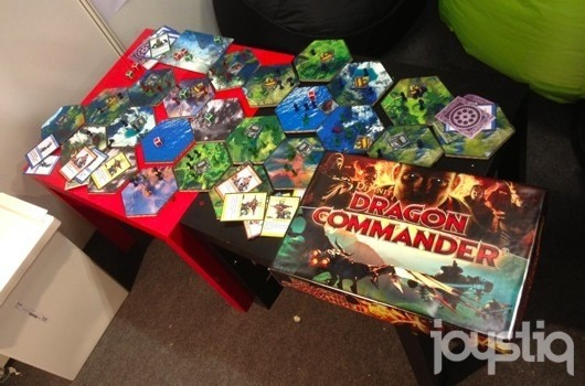 Dragon Commander special edition to include board game