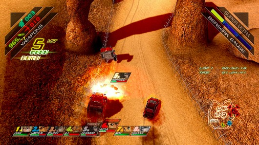 PSN's Fuel Overdose combines 'tactical action racing' and grappling hooks