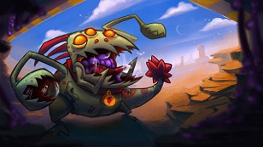 New character gnawing its way into Awesomenauts PC