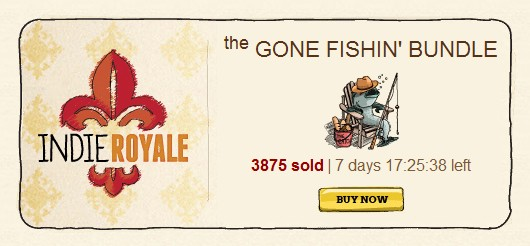 Gone Fishin' indie bundle live with seven indie games