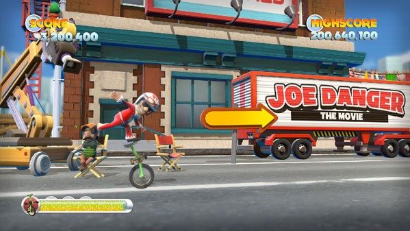Joe Danger 2 The Movie the Nintendo game that's not on any Nintendo consoles