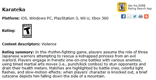 Karateka is coming to Wii U too, ESRB says