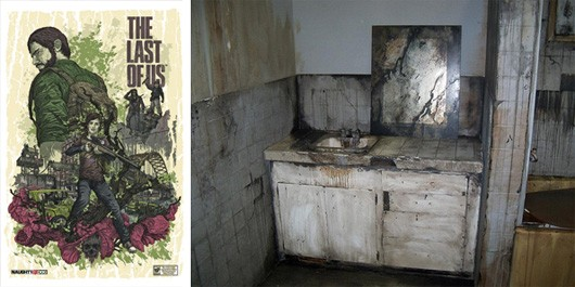 The Last of Us showing off a dirty bathroom at PAX