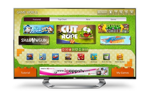 LG announces Game World portal for Smart TV