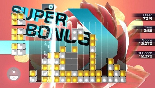 Lumines Electronic Symphony asks you to spam Ubisoft for classic DLC
