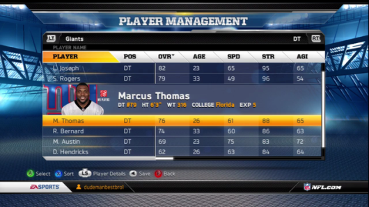 Madden 13's wrong photo angers NFL star Marcus Thomas